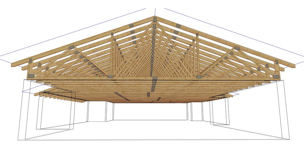 Premade roof trusses for Premade roof trusses